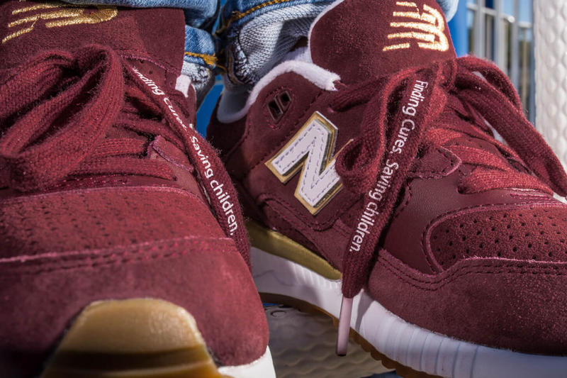 DTLR New Balance 530 St Jude Childrens Research Hospital Charity Premium Burgundy Release Info Drops September 29