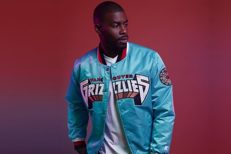 DTLR Starter NBA Capsule Collection Memphis Grizzlies jacket
