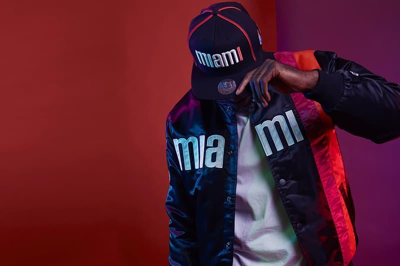 DTLR Starter NBA Capsule Collection Miami Heat jacket