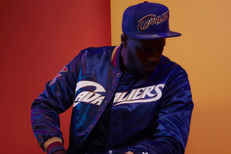 DTLR Starter NBA Capsule Collection Cleveland Cavaliers jacket