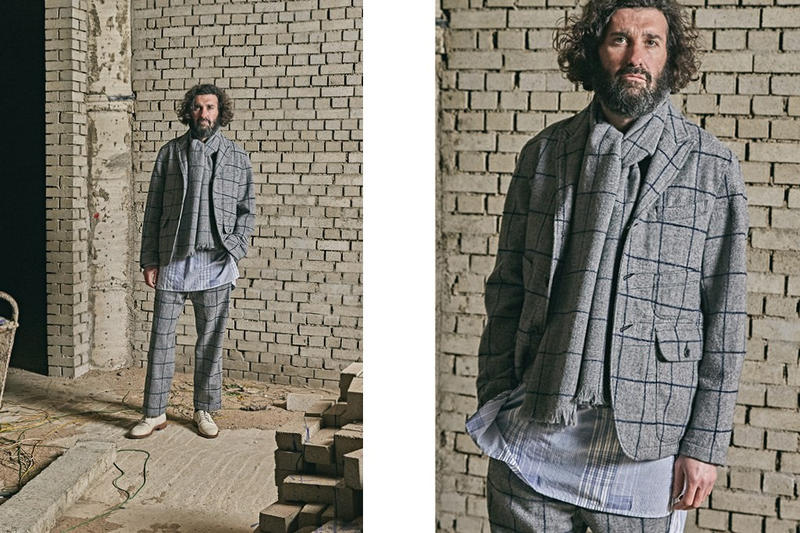 Eastlogue 2017 Fall/Winter Collection Lookbook clothing style fashion menswear tailoring The Modulor