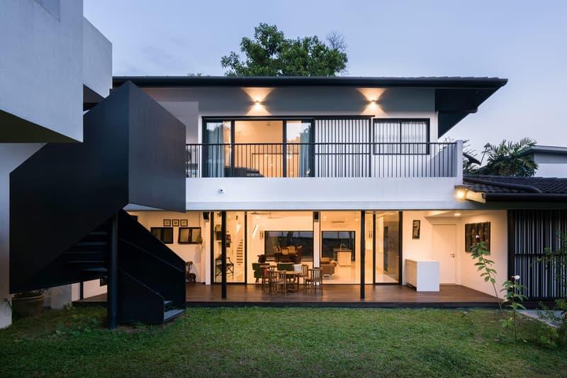 Eigent House Fabian Tan Architects Kuala Lumpur Malaysia