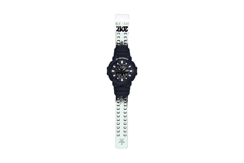 Eric Haze Casio G SHOCK GA700 Watch Collaboration 35th Anniversary Special Edition Timepiece