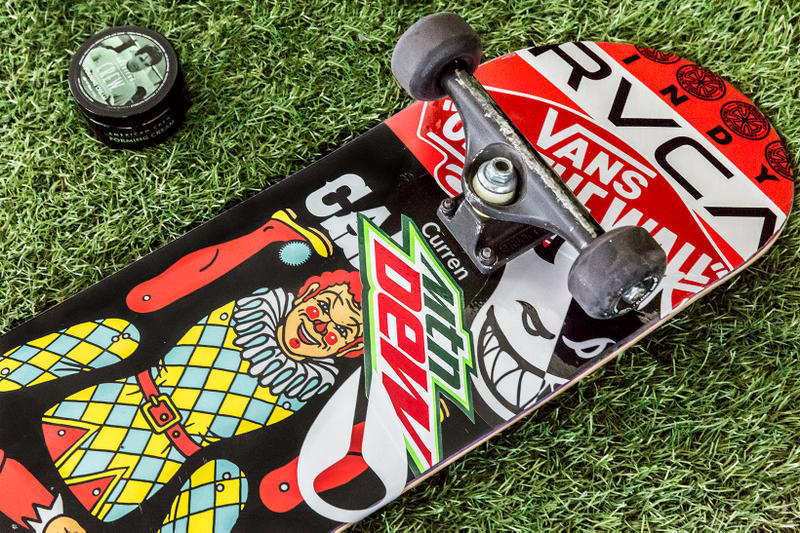 Essentials: Curren Caples American Crew and Flip skateboard
