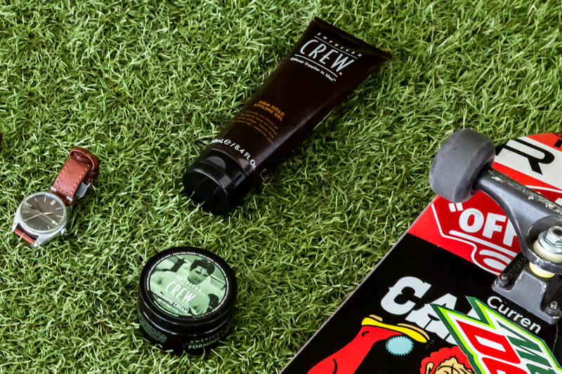 Essentials: Curren Caples American Crew close up