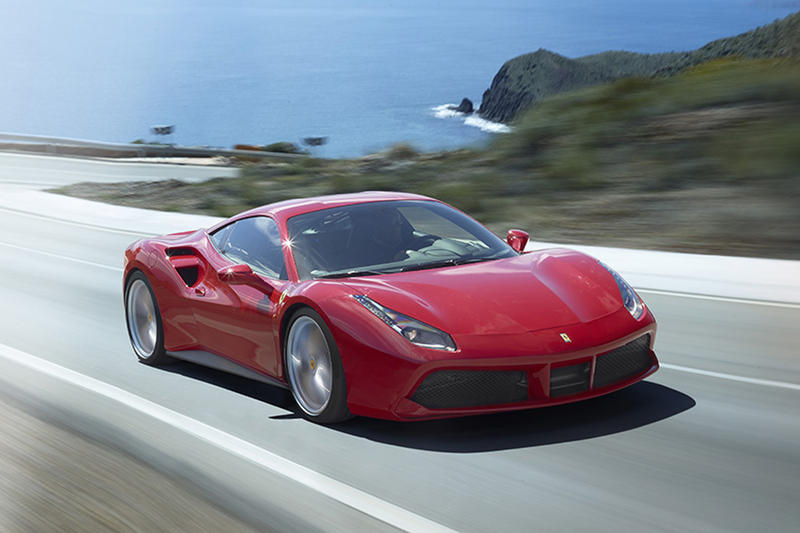Ferrari 488 GTB Red Motor Trend Best Driver's Car