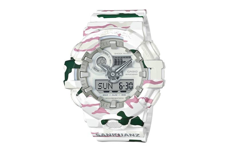 G-SHOCK SANKUANZ Tundra GA-700 Watch Chinese Streetwear Shangguan Zhe