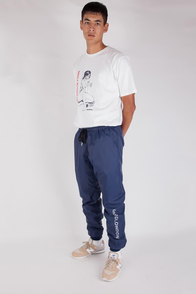 Grind London Fall Winter 2017 In Good Taste Collection Lookbook style fashion menswear streetwear clothing hoodies sweatshirts tees t-shirts sweats pants outerwear jackets coats tracksuits