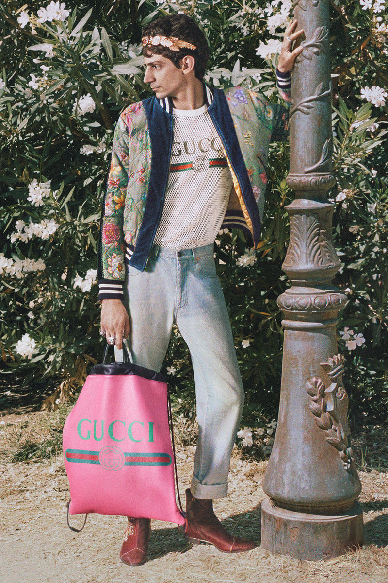 Gucci Mick Rock Roman Rhapsody Cruise 2018 Campaign Alessandro Michele Lookbook