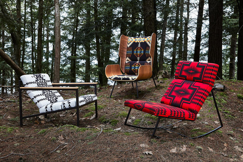 Pendleton Woolen Mills Fabrics Gus* Modern Furniture Chair Collection
