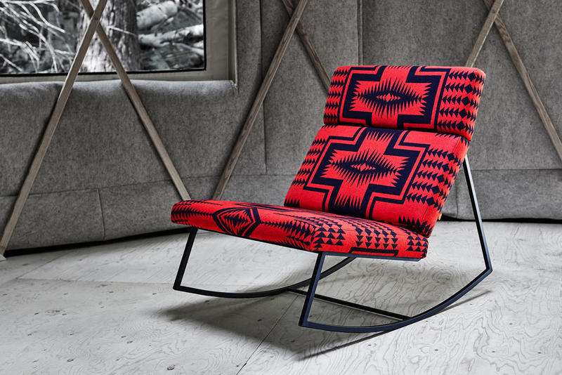 Surprising Pendleton Fabrics X Gus Modern Chair Collection Hypebeast Lamtechconsult Wood Chair Design Ideas Lamtechconsultcom