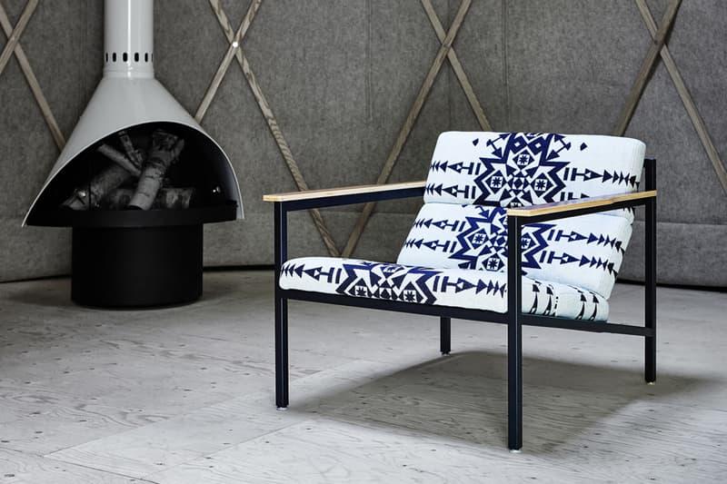 Pendleton Fabrics X Gus Modern Chair Collection Hypebeast