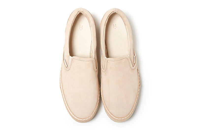 Hender Scheme Leather Slip-On Shoe Vans