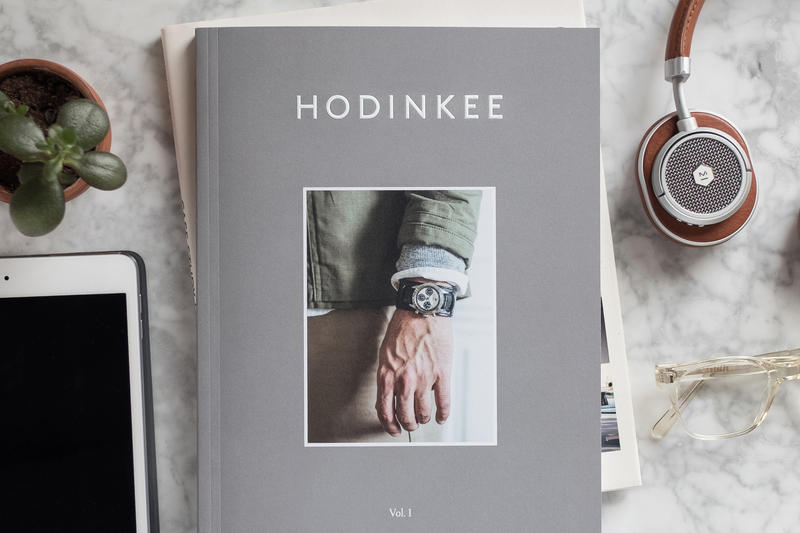 HODINKEE Magazine Vol Volume 1 Launch Debut Print Biannual