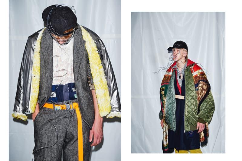 HUKUMIKA 2017 Fall Winter Lookbook Japanese Fashion Art FACETASM 08sircus