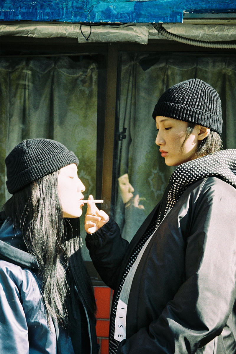 IISE Fall Winter 2017 Collection Lookbook Seoul South Korea Korean War
