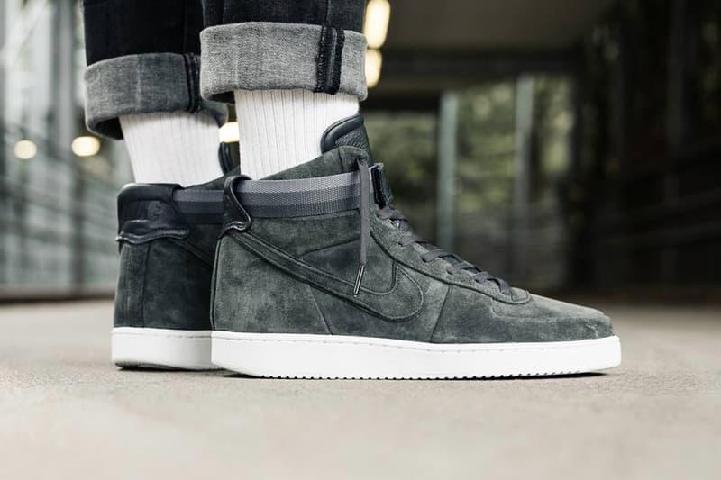 size 40 929bc 156aa An On-Feet Look at the John Elliott x Nike Vandal High In