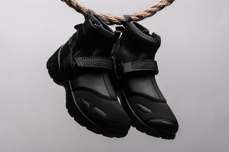 "Jordan Brand Trunner LX High ""Triple Black"" Sneaker"