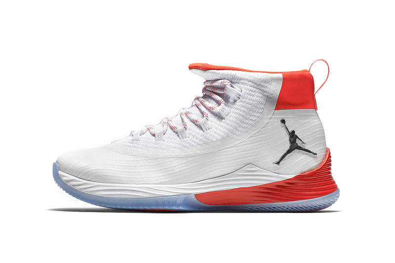 1930204520cd Air Jordan Ultra.Fly Ultra Fly 2 Red White Silver History of Flight Colorway