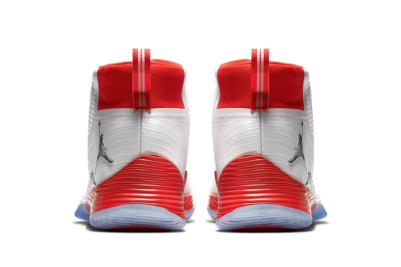 Air Jordan Ultra.Fly Ultra Fly 2 Red White Silver History of Flight Colorway