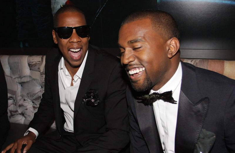 Kanye West JAY-Z meet end feud