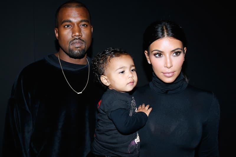 Kanye West Kim Kardashian Third Child Girl