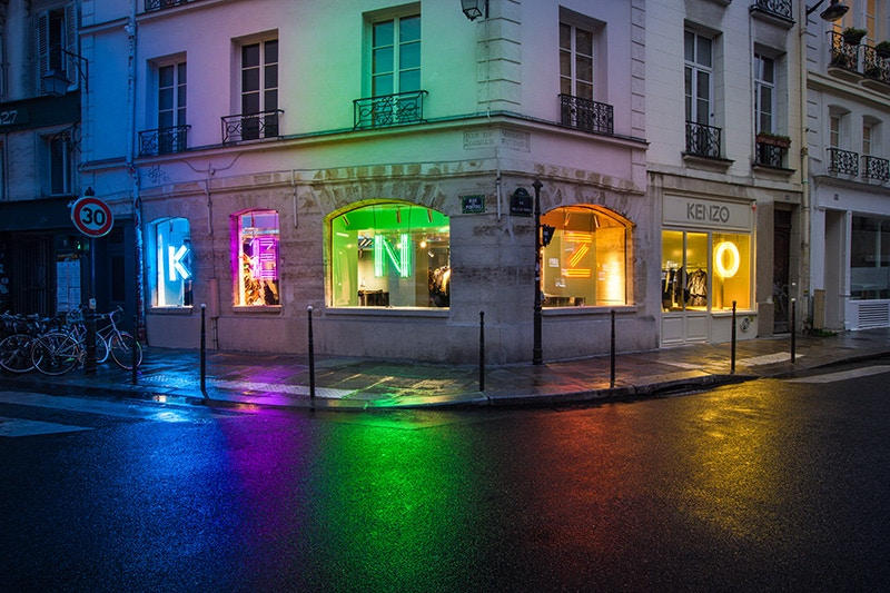 KENZO Event Store Paris France Opening