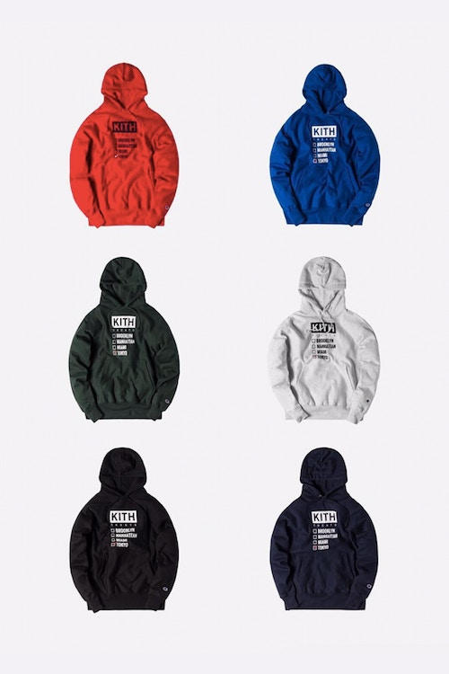 Kith Treats Tokyo Ronnie Fieg Exclusive Hoodies Collection Virgil Abloh Don C