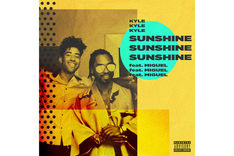 KYLE Miguel Sunshine Single Stream 2017 September 28 Release