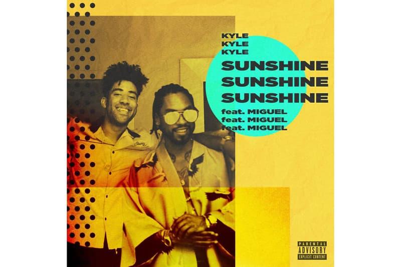 KYLE Miguel Sunshine Single Stream 2017 September 28 Release