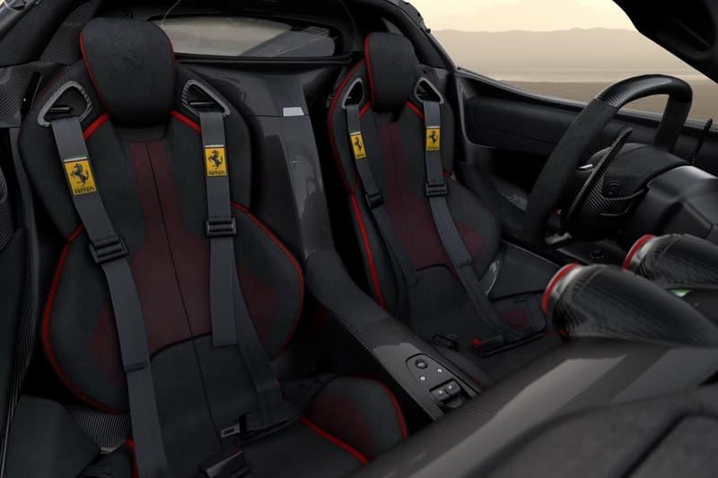 Ferrari LaFerrari Aperta Save the Children Charity Auction Maranello Fiorano Track RM Sothebys