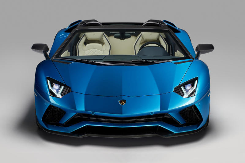 Lamborghini 2017 Aventador S Roadster Supercar Hypercar Exotic Car