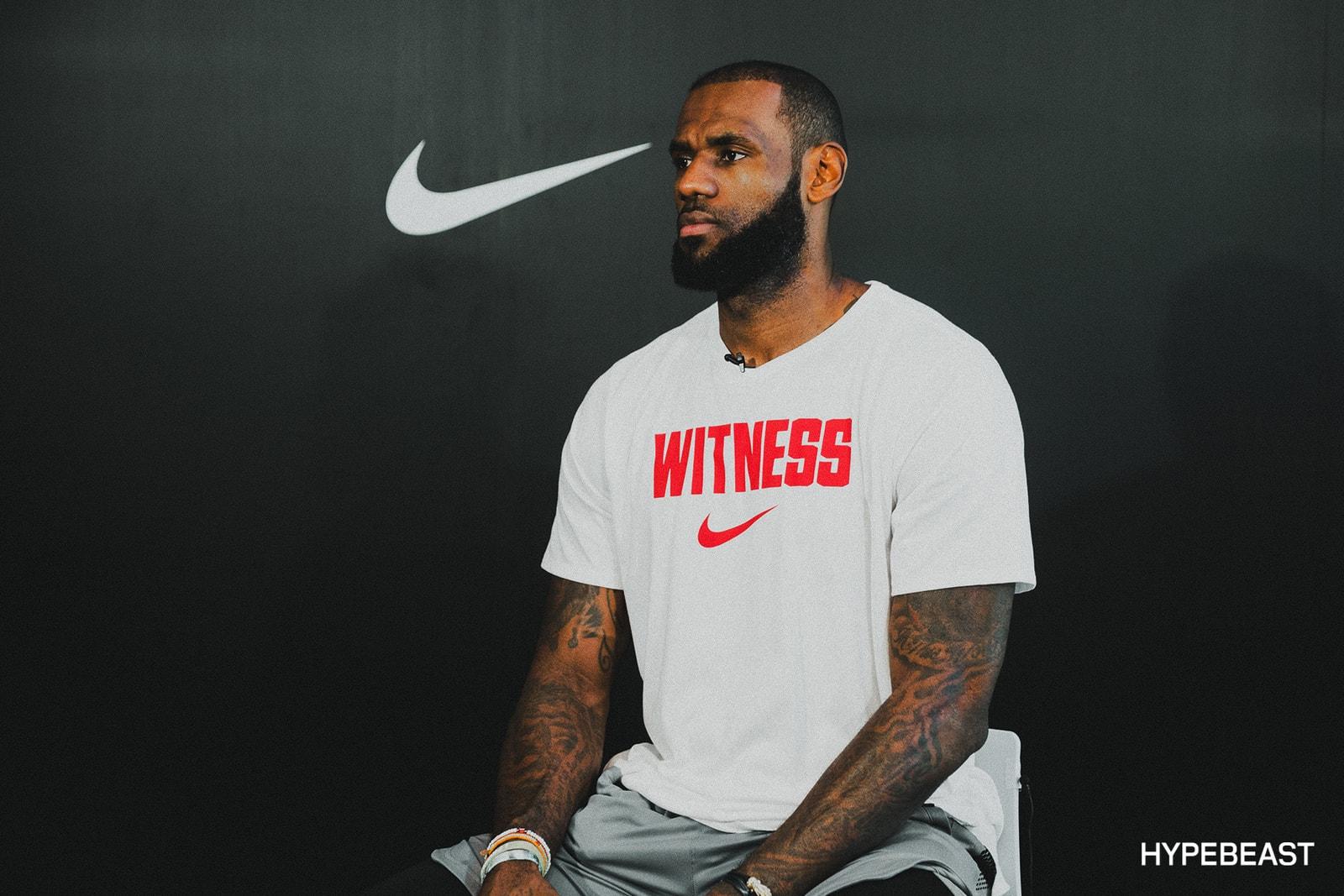 LeBron James Nike LeBron 15 NBA Basketball Cleveland Cavaliers