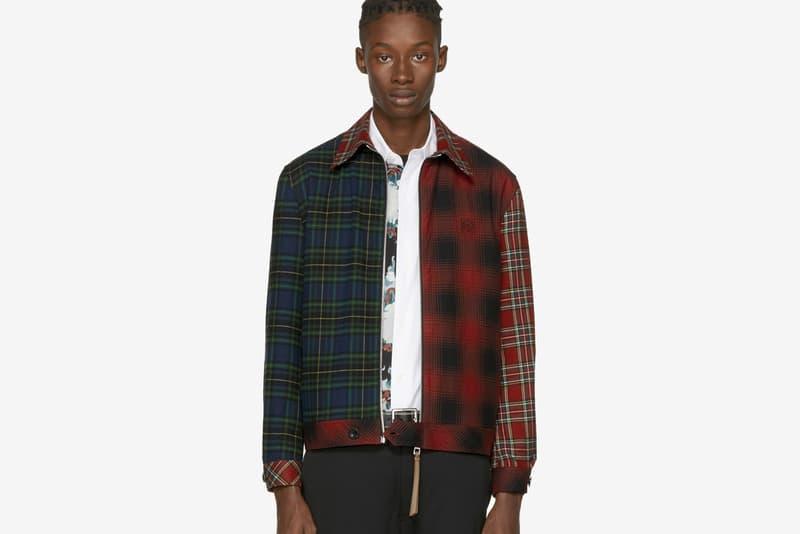 Loewe Tartan Patchwork Jacket