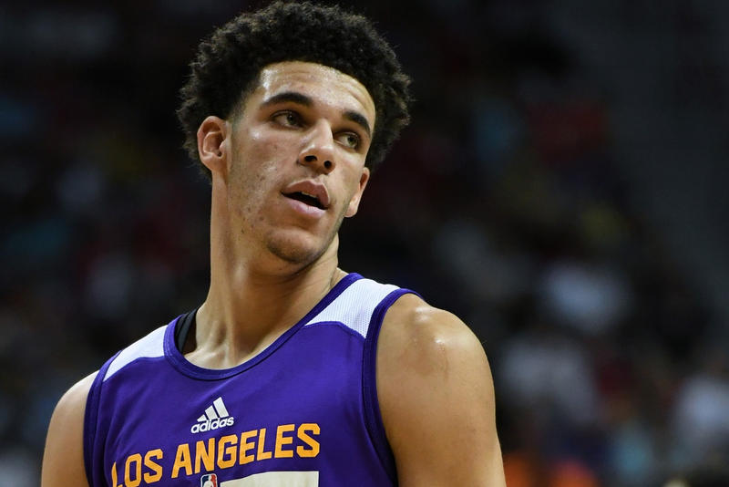 Lonzo Ball Los Angeles Lakers Big Baller Brand
