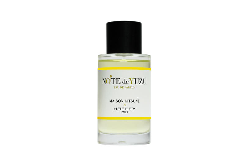 Heeley Parfums Maison Kitsune Fragrance Note de Yuzu Perfume