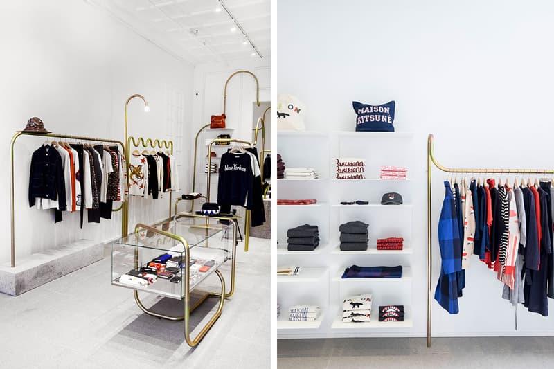 Maison Kitsune NYC Flagship Store Opening