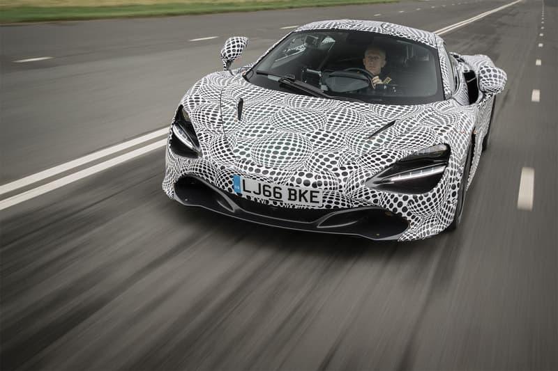 McLaren BP23 Three Seater Teaser Supercar Hypercar Car Automobile GT