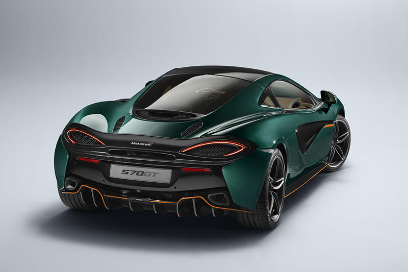 McLaren Supercar Special Operations 570GT XP Green Paint Paintwork Supercars