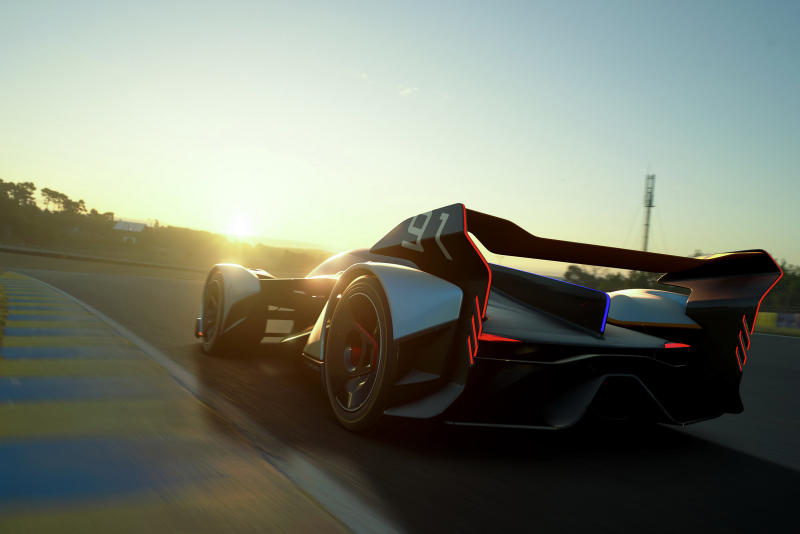 McLaren Ultimate Vision GT Gran Turismo Sport Car