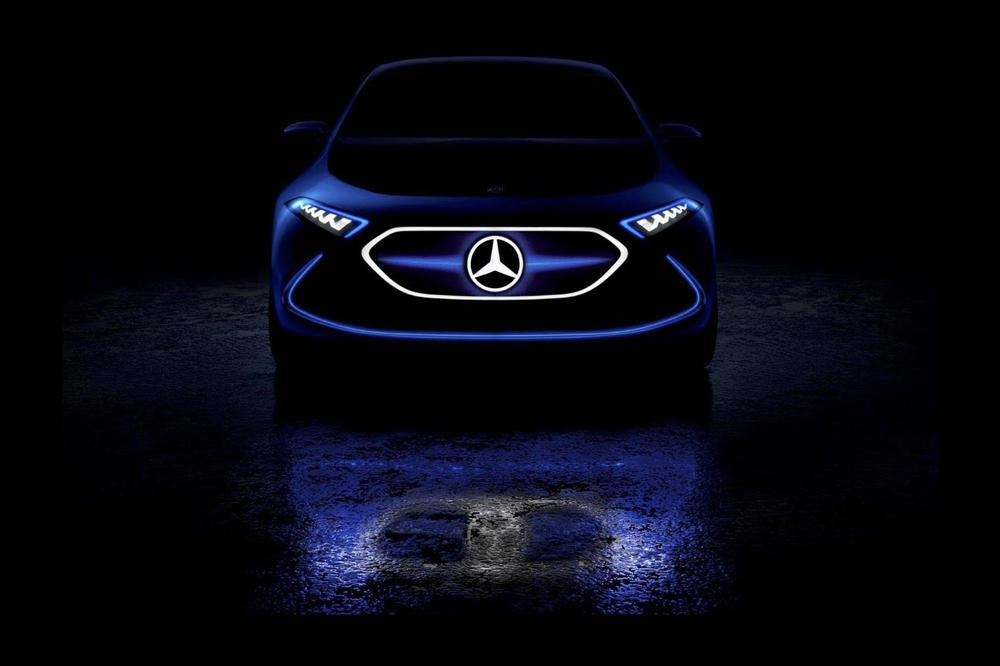 Mercedes Benz All Electric Vehicles 2022 Announcement