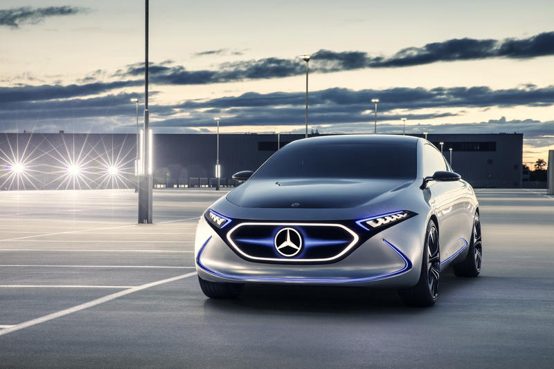 Mercedes Benz Unveils All Electric Eqa Concept Hypebeast