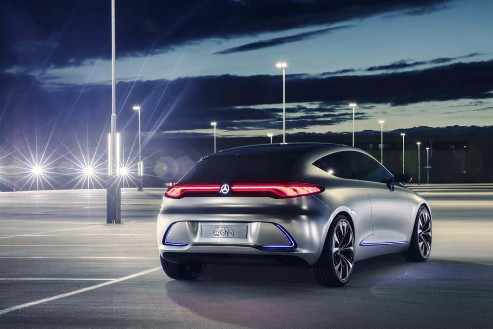Mercedes Benz Concept EQA Electric 2017 Frankfurt Motor Show