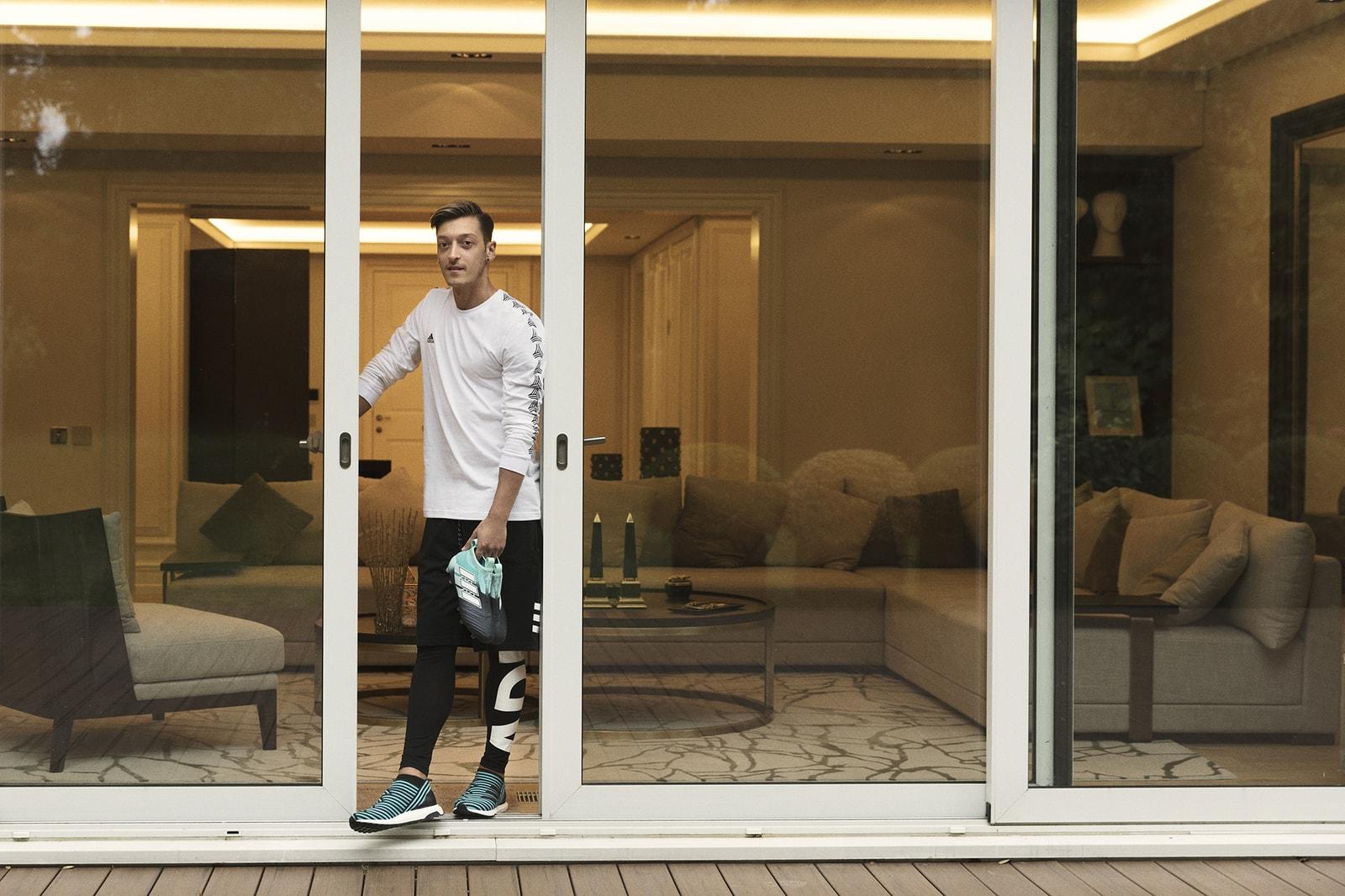 HYPEBEAST Visits Mesut Özil adidas Football Arsenal Germany Gunners Gooners COYG