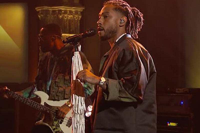 Miguel Come Through and Chill Sky Walker The Late Show With Stephen Colbert Live Performance 2017 September