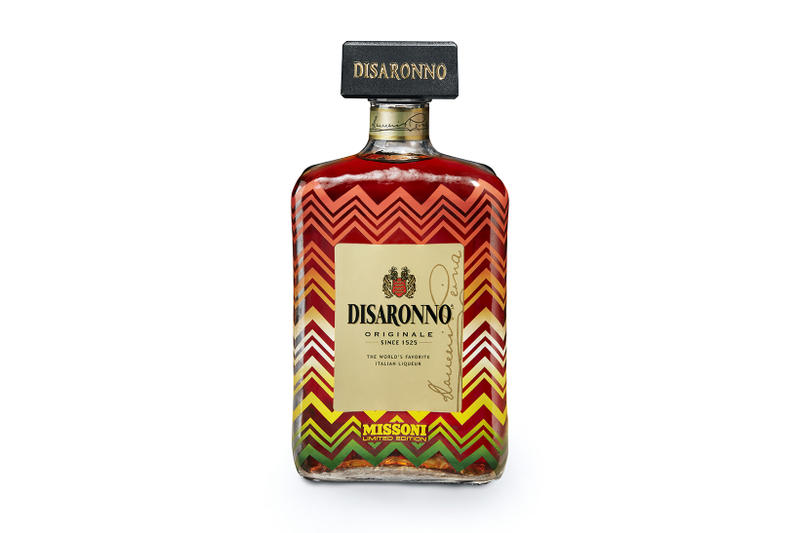 Missoni x Disaronno Limited-Edition Bottles