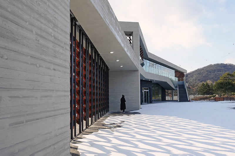 Mokyeonri Wood Culture Museum Soft Architecture Seoul Incheon Grand Park
