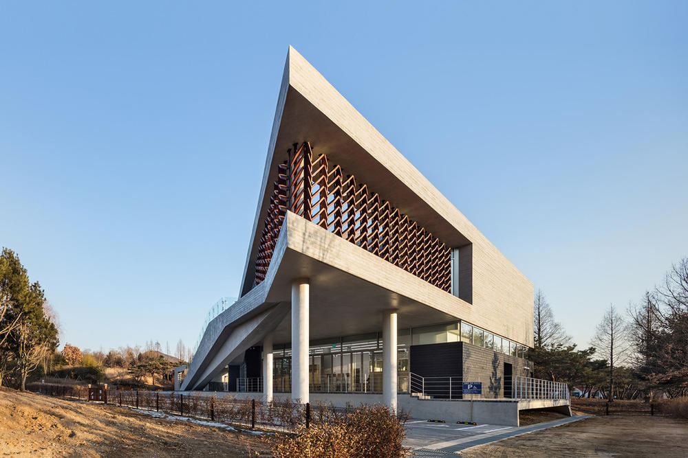 Mokyeonri Wood Culture Museum Soft Architecture Seoul Incheon Grand Park