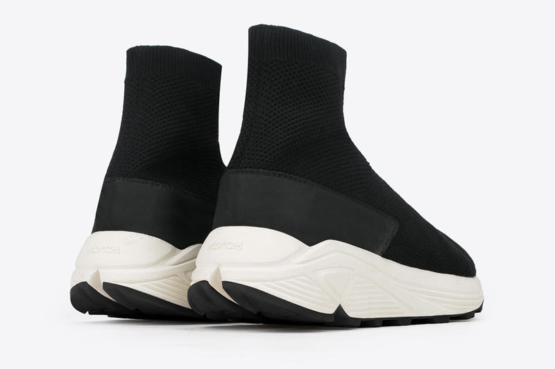 N.D.G. Studio NID de GUÊPES 2084 Sock Sneakers Black Colorway Vibram Sole Trainer Release Date Information Drops