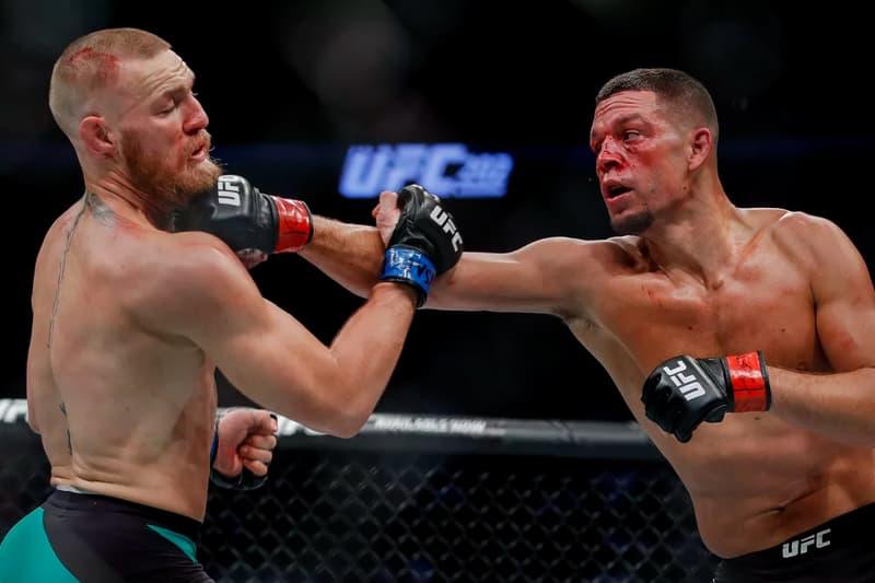 Nate Diaz Conor McGregor UFC